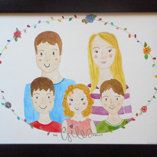 Family Portrait framed