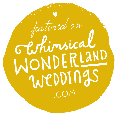 Frog & Pencil Whimsical Wonderland Wedding Badge